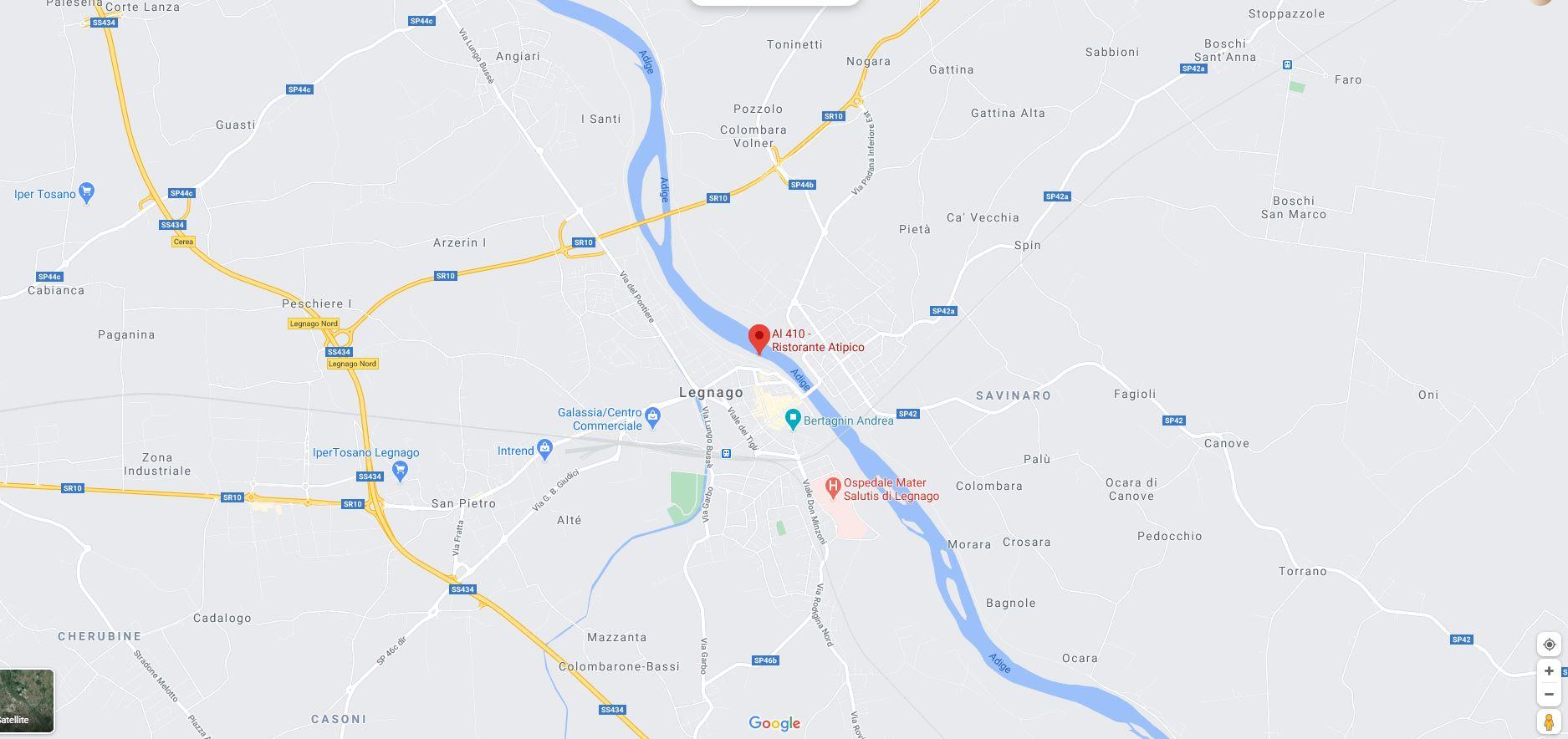 Mappa AL410